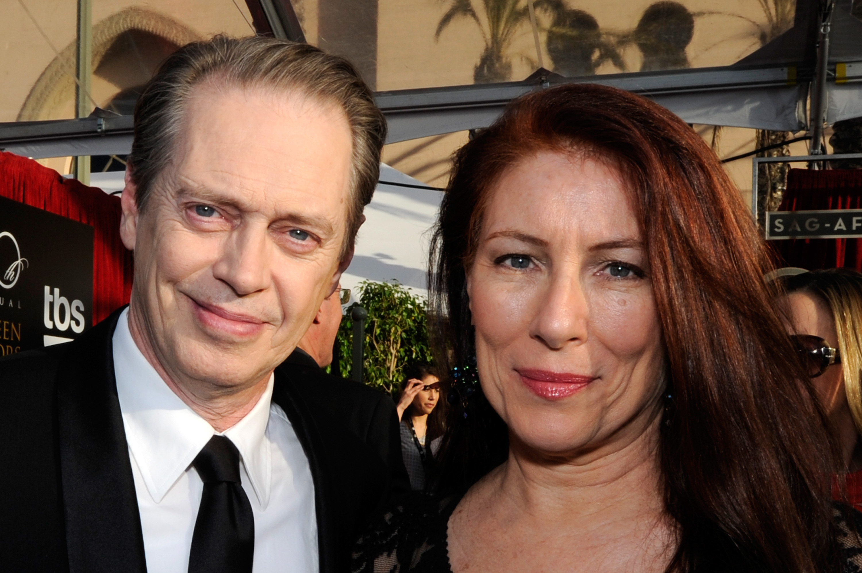 Actor Steve Buscemi and wife Jo Andres
