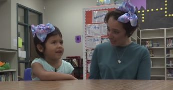 Student Teacher Matching Hairstyle