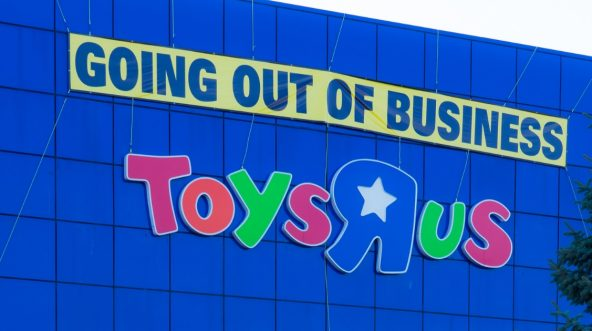 Toys R Us store in New Jersey.