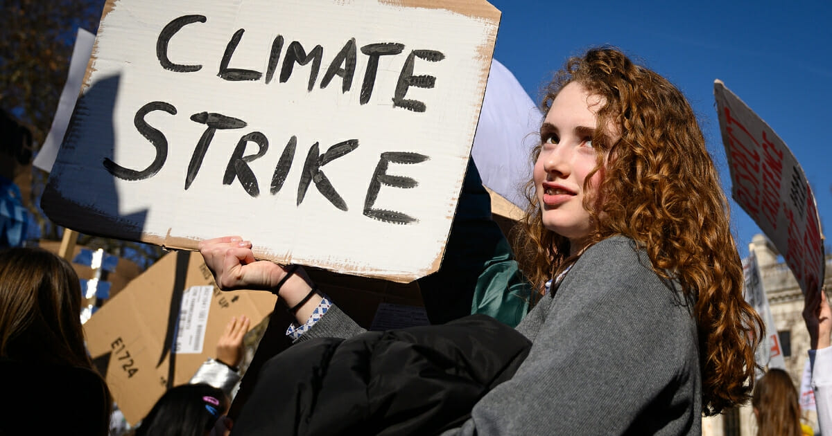 UK Schoolchildren Climate Strike