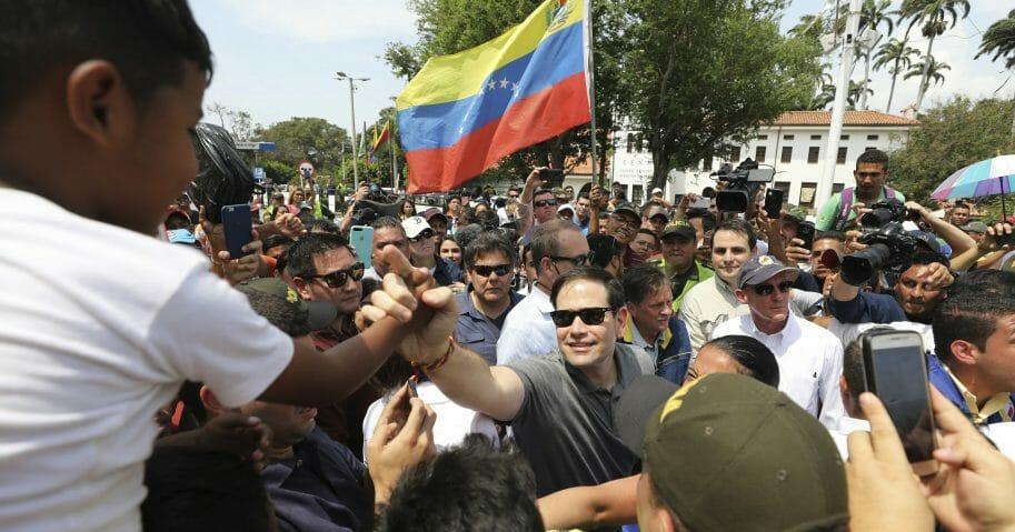 Colombia Venezuela Political Crisis