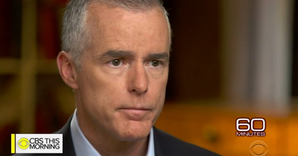 """Former FBI Deputy Director Andrew McCabe sits down for interview with """"60 Minutes."""""""