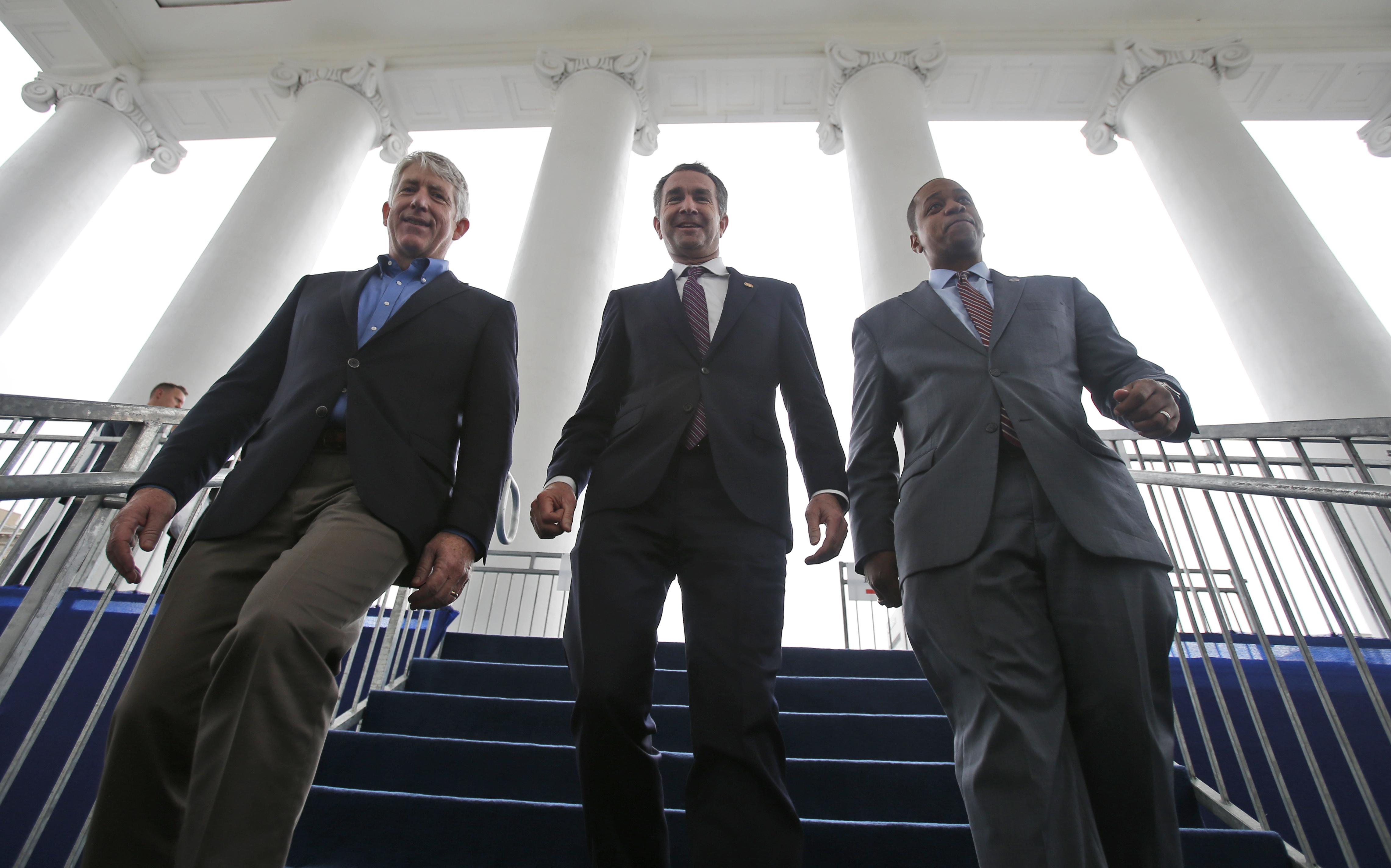 Ralph Northam, Mark Herring, Justin Farifax
