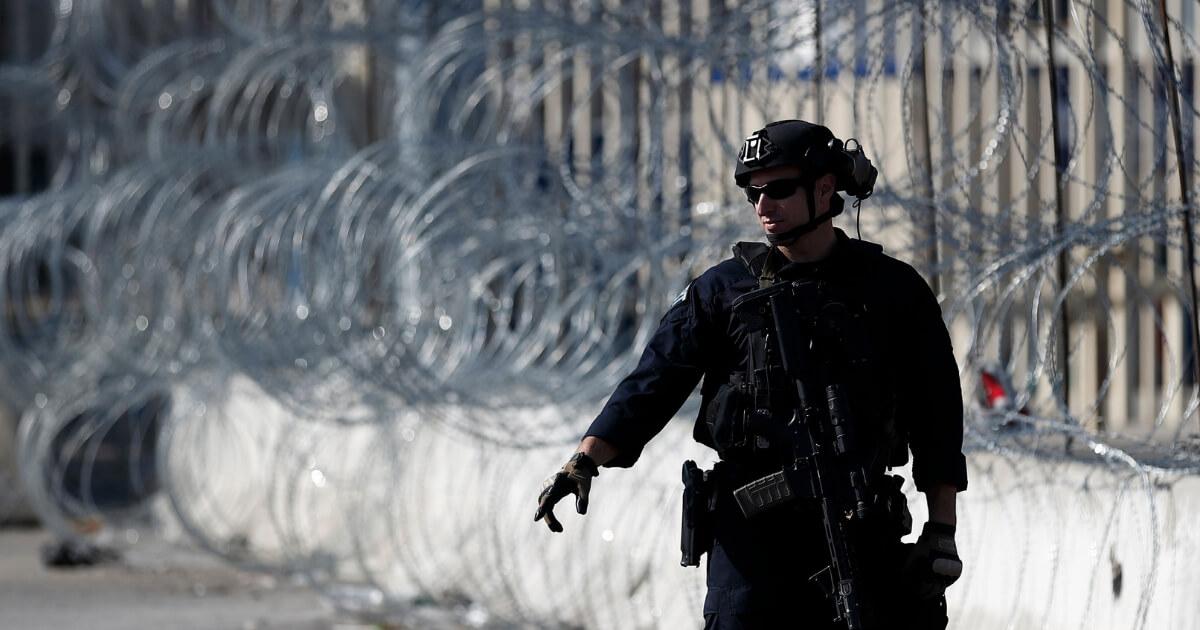 border patrol wire