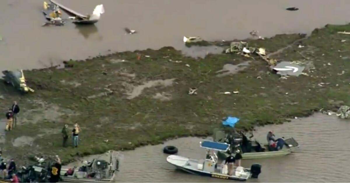 Cargo jetliner crashes in Texas.