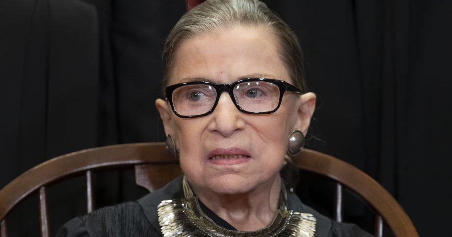 Associate Supreme Court Justice Ruth Bader Ginsburg.