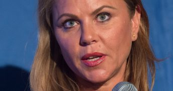 Lara Logan, chief foreign affairs correspondent for CBS News.