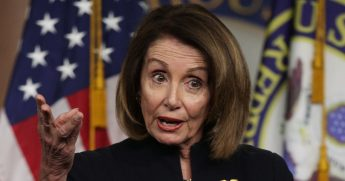 Speaker of the House Rep. Nancy Pelosi speaks during a weekly news conference at the U.S. Capitol.