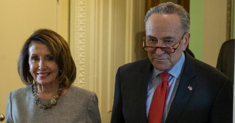 House Speaker Nancy Pelosi and Senate Minority Leader Chuck Schumer