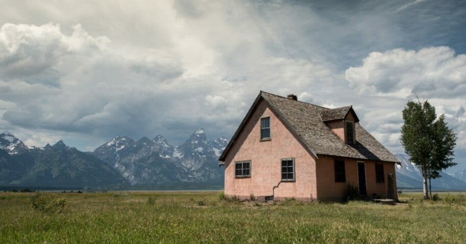 Homestead in Wyoming