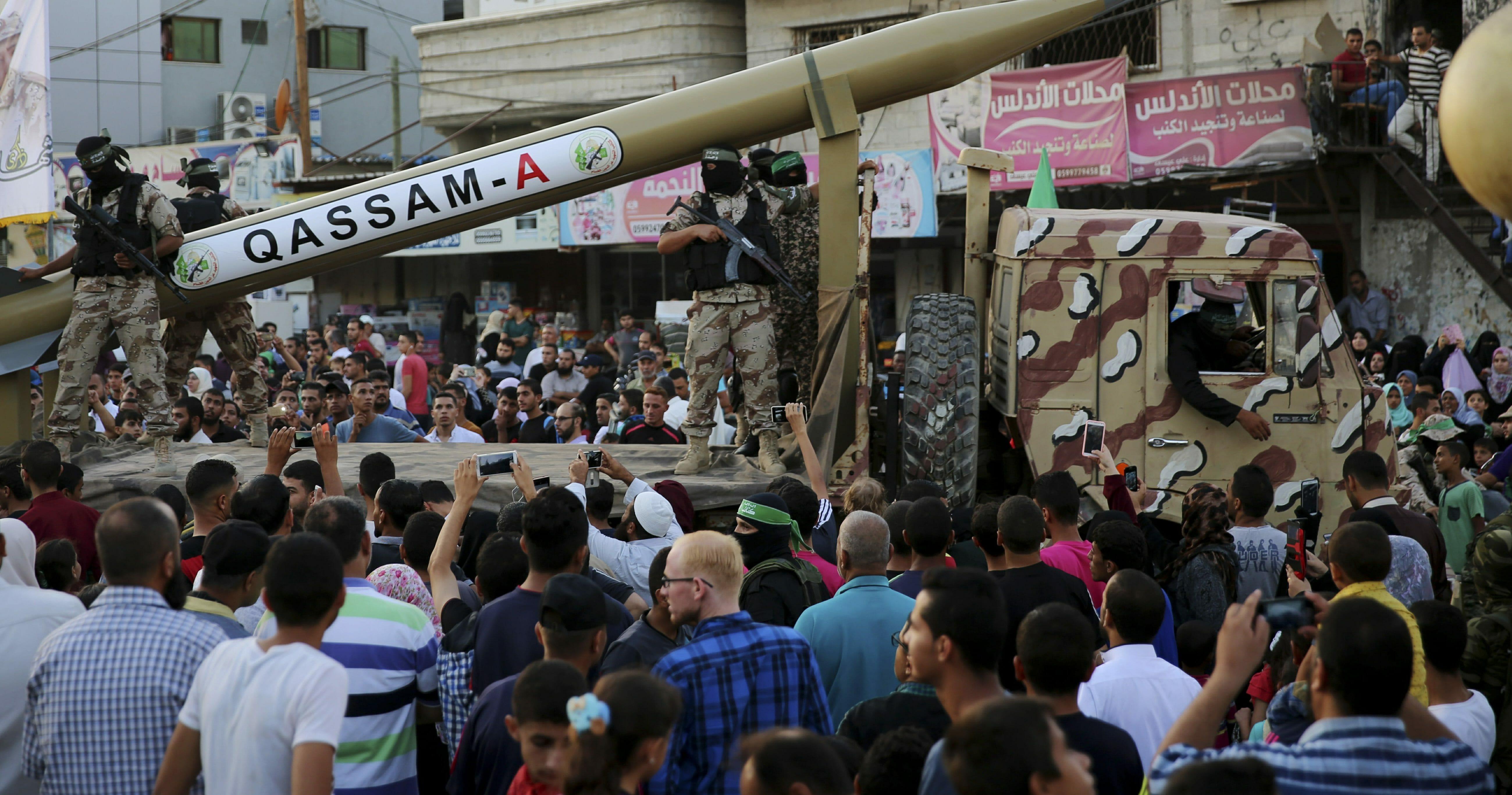 Gaza Hamas Weapons