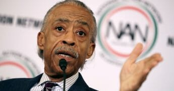The Rev. Al Sharpton addresses a post-midterm election meeting of his National Action Network's in the Kennedy Caucus Room at the Russell Senate Office Building on Capitol Hill Nov. 13, 2018, in Washington, D.C.