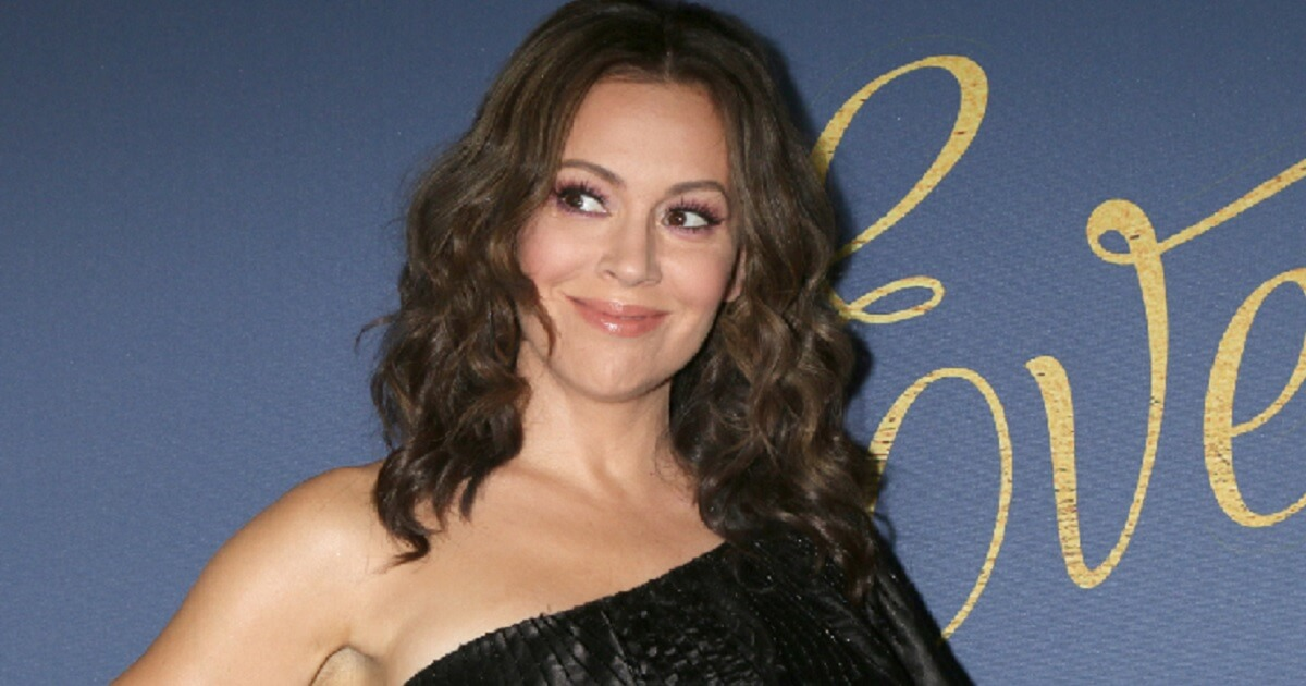 Alyssa Milano Dives Headfirst into Lunacy With Massively Controversial Tweet: 'I'm a Person of Color'