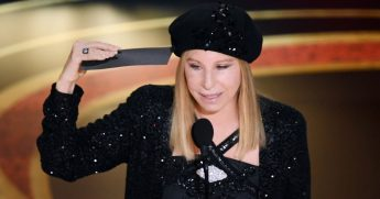 Barbra Streisand speaks during the 91st Annual Academy Awards on February 24, 2019, in Hollywood, Calif.