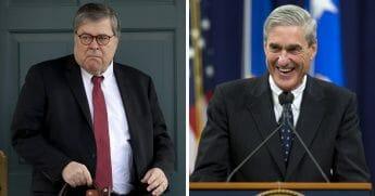 William Barr; Robert Mueller
