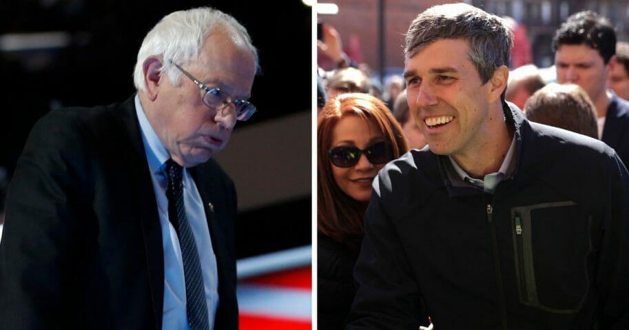 Bernie Sanders; Beto O'Rourke