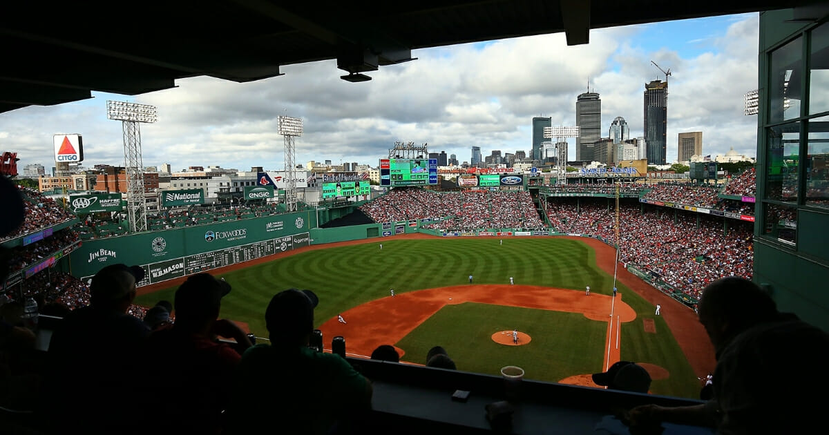 A view of Fenway Park during a game between the Boston Red Sox and the New York Yankees on Aug. 4, 2018.