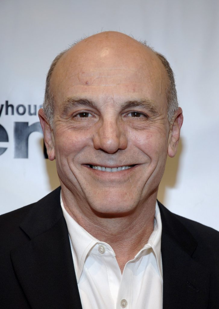 Carmen Argenziano arrives for the Los Angeles opening of Arthur Miller's 'All My Sons'