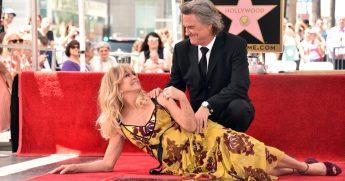 Goldie Hawn Kurt Russell Star