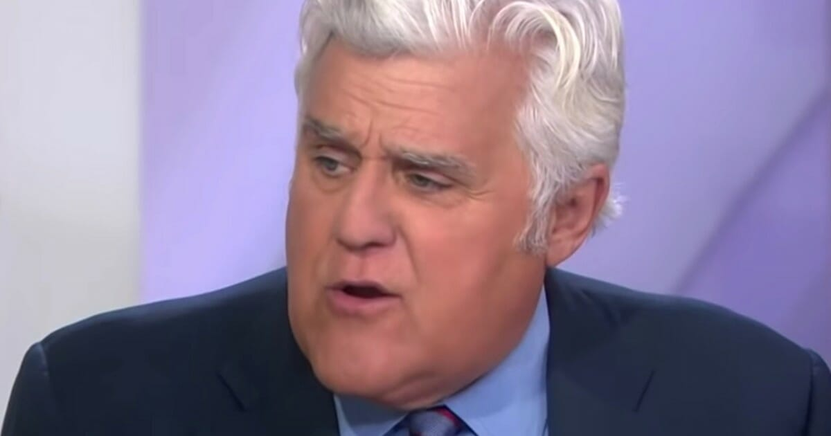 Former 'Tonight Show' host Jay Leno appears on NBC's 'Today.'