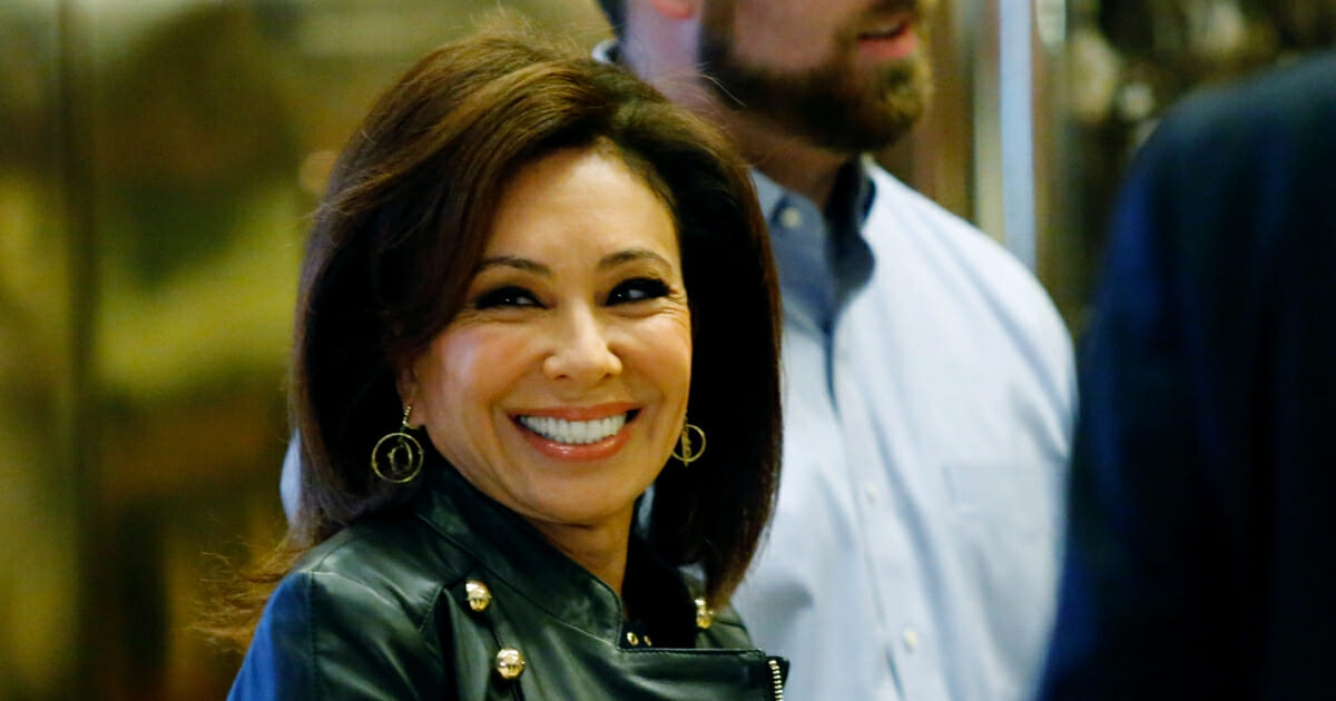 Jeanine Pirro, arrives at the Trump Tower for meetings with U.S. President-elect Donald Trump, in New York on Nov. 17, 2016.