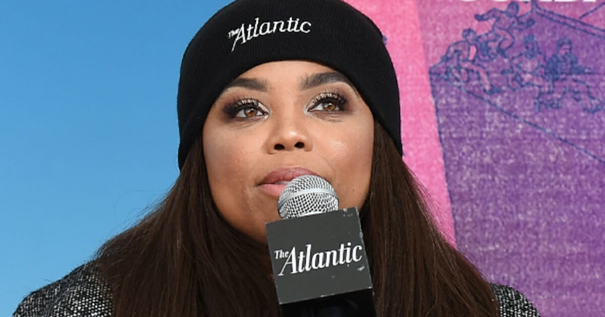 Jemele Hill in a file photo from January.
