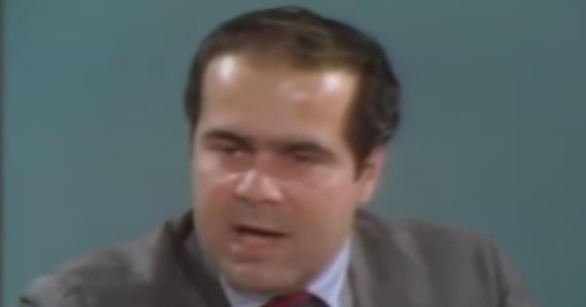 The late Supreme Court Justice Antonin Scalia
