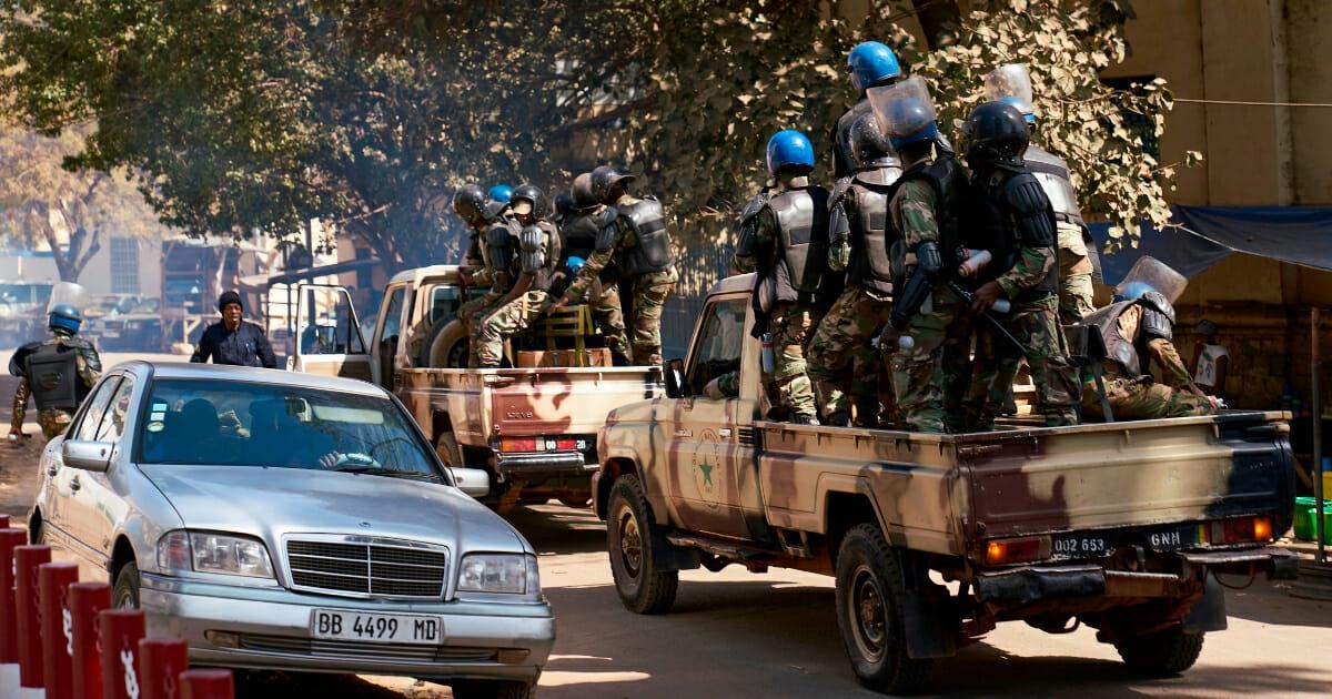 Malian police