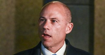 Attorney Michael Avenatti holds a press conference Feb. 22, 2019, in Chicago.
