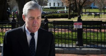 Special counsel Robert Mueller is pictured walking past the White House on Sunday, two days after submitting his report that found no collusion between the Trump campaign and Russia during the 2016 election.
