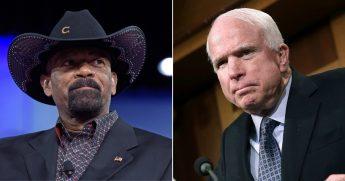 David Clarke; John McCain