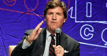 Fox News host Tucker Carlson in a file photo from October.