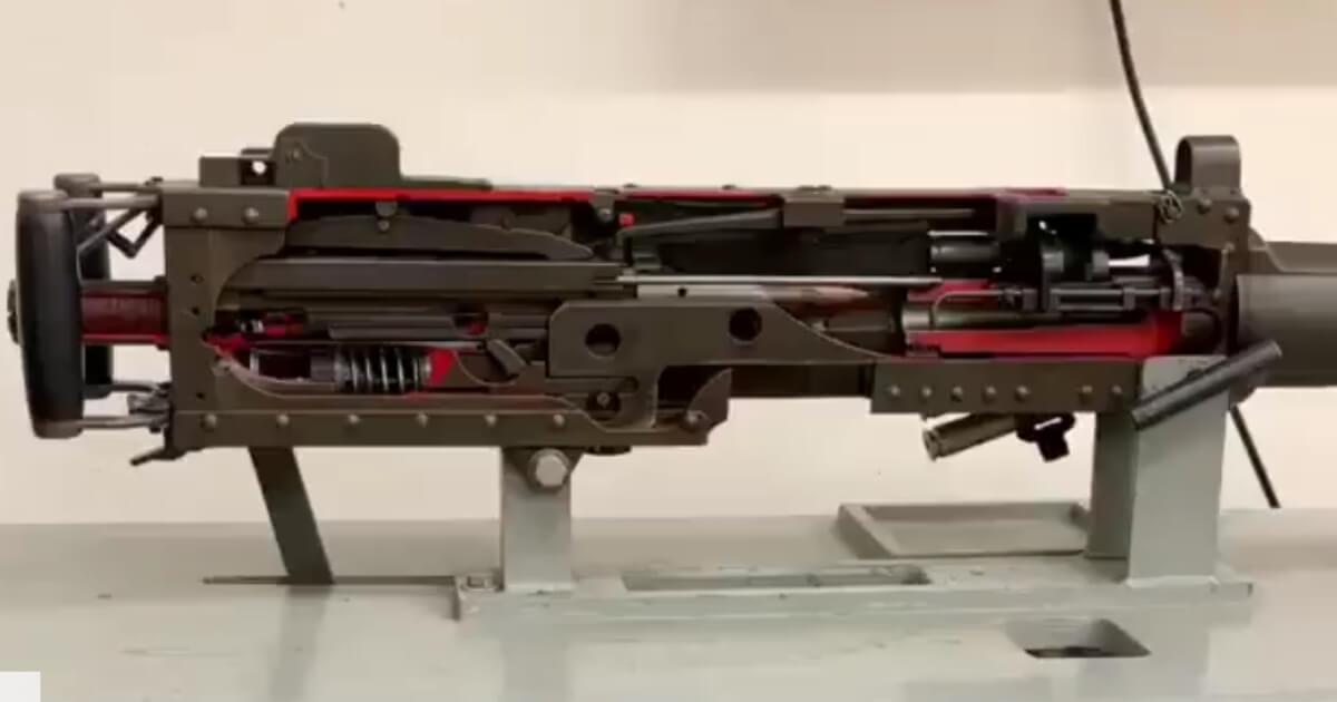 Watch: Sleek Beauty of Cutaway Model Shows Why We Still Use This WW1-Era Machine Gun