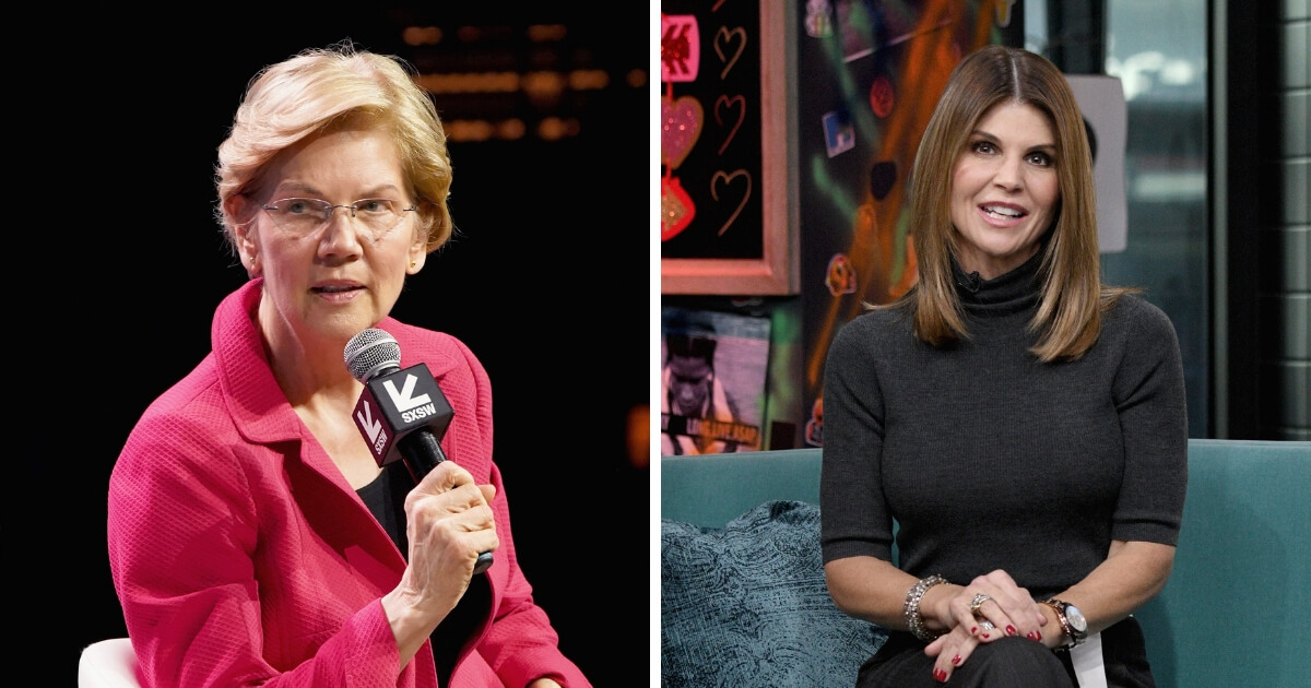Warren Who Lied Getting Onto Harvard Faculty Now Condemns Celebs Lying To Get Harvard To Accept Their Kids