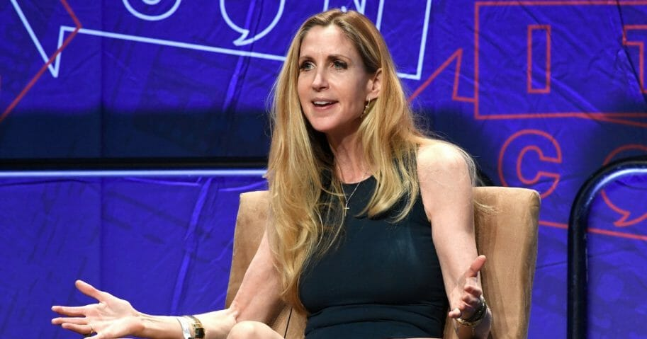 Ann Coulter speaks at CPAC.