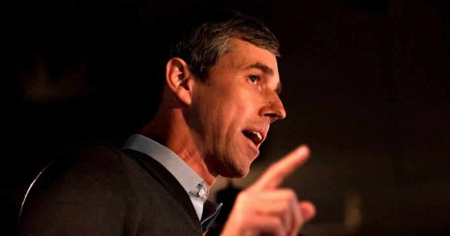 Democratic party presidential candidate Beto O'Rourke