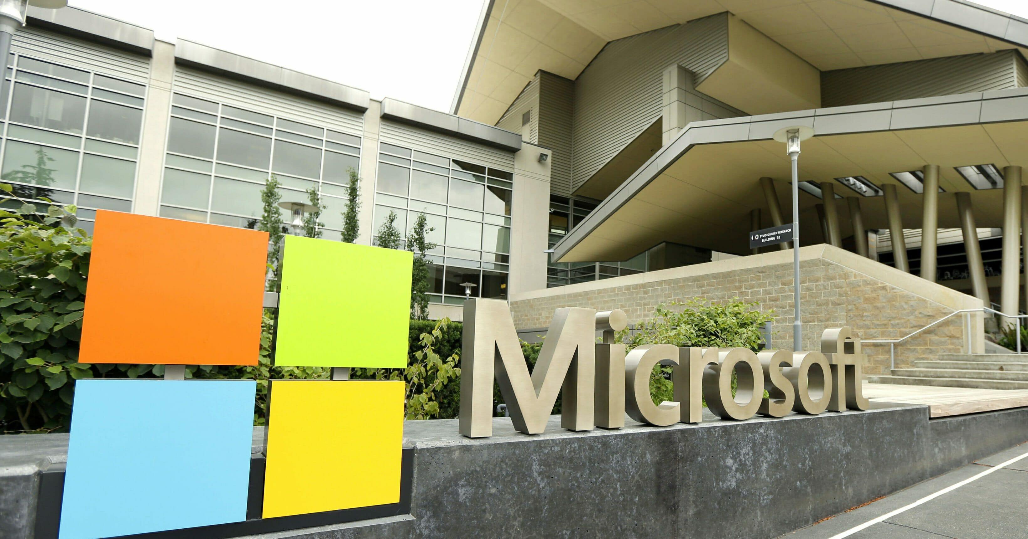The Microsoft Visitor Center in Redmond, Washington.