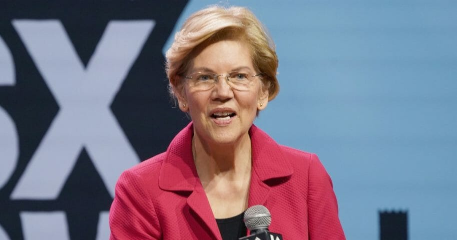 Sen. Elizabeth Warren during the 2019 SXSW Conference on March 8, 2019.