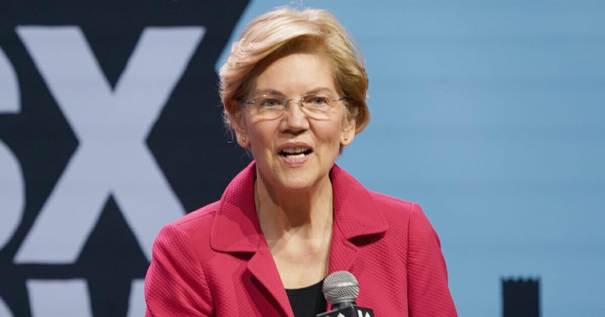 Sen. Elizabeth Warren during the 2019 SXSW Conference on March 8, 2019.