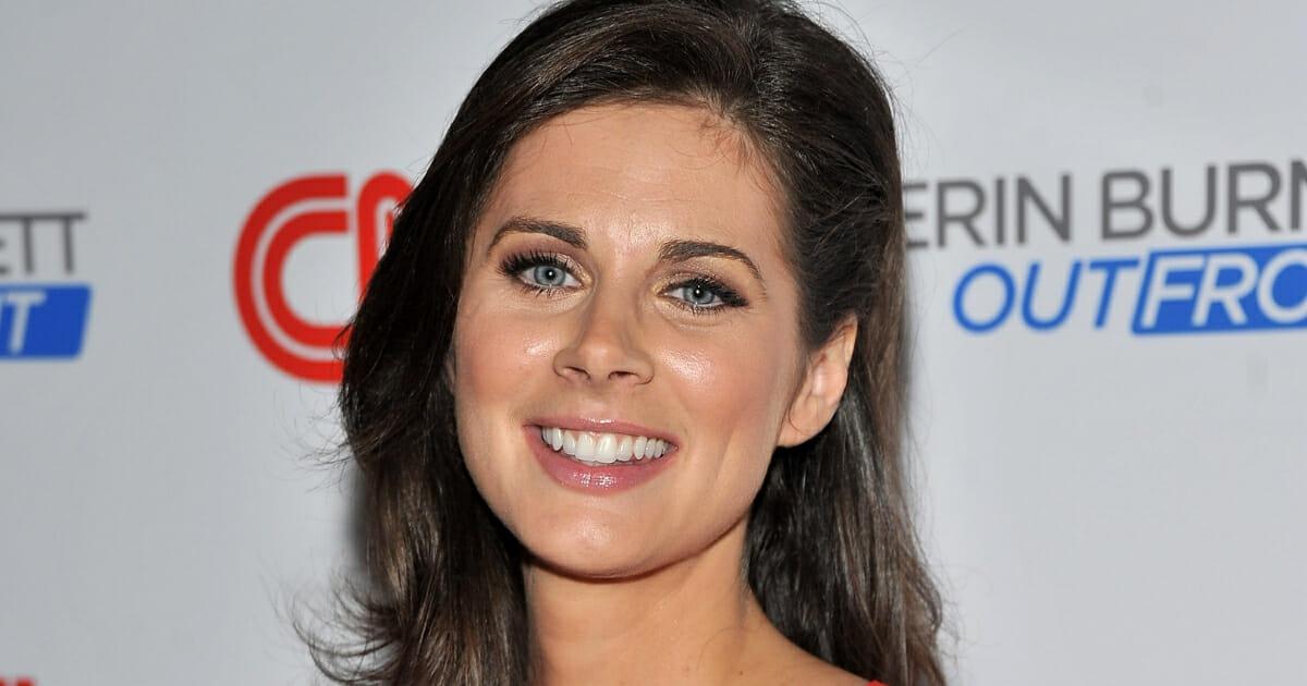 CNN host Erin Burnett