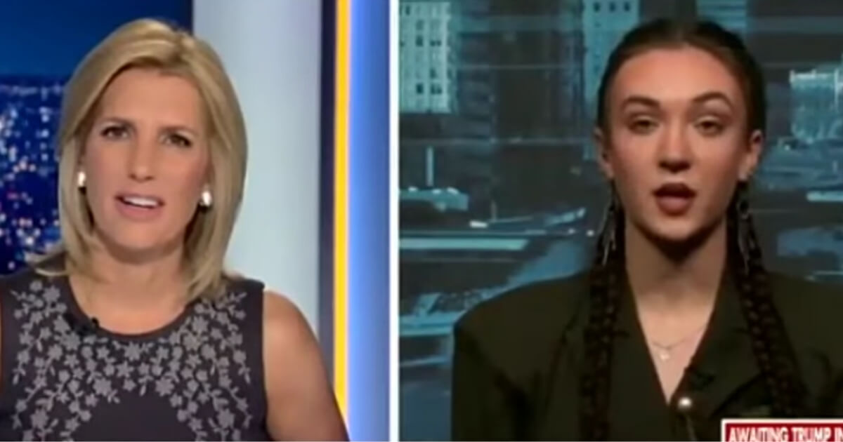 Female competitor who lost to transgender athletes speaks to Laura Ingraham.