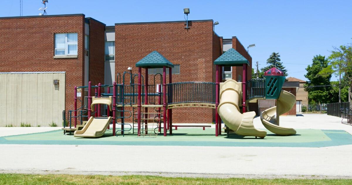 Playground at public school.
