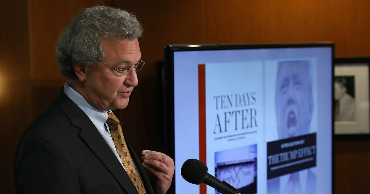 Richard Cohen, President of the Southern Poverty Law Center, speaks during a news conference Nov. 29, 2016, in Washington, D.C.