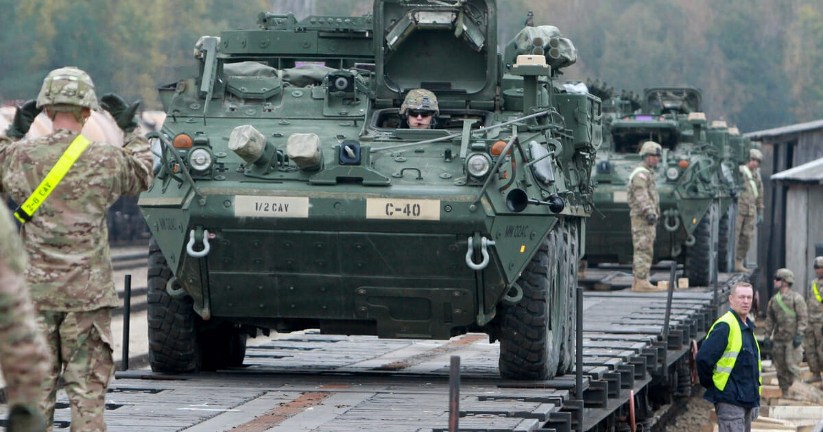 U.S. Army in Lithuania.