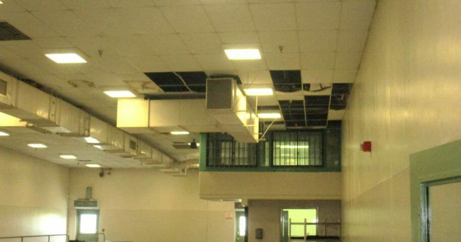 California Prisons Deteriorating Roof