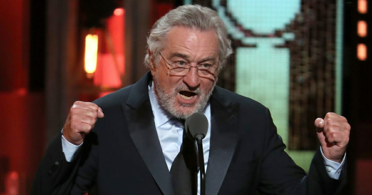 Actor Robert De Niro at the 72nd annual Tony Awards at Radio City Music Hall on Sunday, June 10, 2018, in New York.