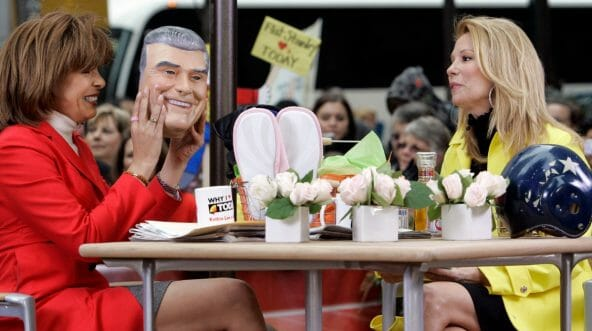 "Hoda Kotb, left, with Kathie Lee Gifford on the ""Today"" show."