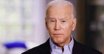 Former Vice President Joe Biden uses a campaign video to announce his bid for the Democratic nomination for the presidency.