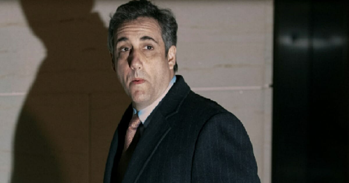 Former Donald Trump attorney Michael Cohen in a file photo from March.