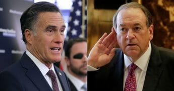 Mitt Romney; Mike Huckabee